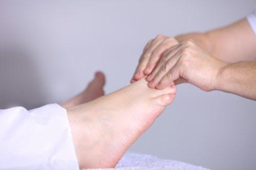 足と幻肢痛